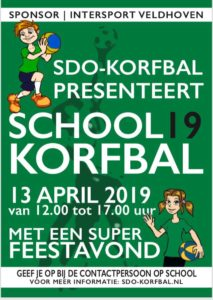 Schoolkorfbal Toernooi